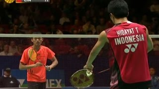 Lin Dan v T.Hidayat |MS- QF| Yonex All England Open Badminton Champ. 2012