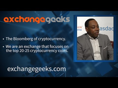Exchange Geeks | Greg Baker | Founder | The Bloomberg of Cryptocurrency