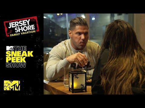 Ronnie & Jen Share A Tense Dinner | The Sneak Peek Show | MTV