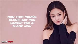 Jennie ( Blackpink )  - Solo Lyrics