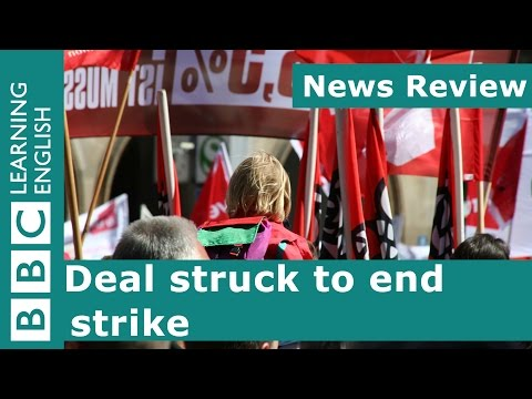 BBC News Review: Hollywood Screenwriters' Strike