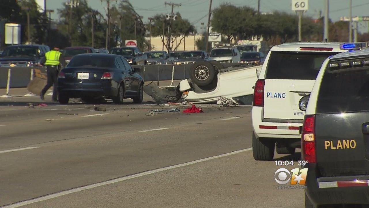 1 Adult, 2 Children Dead After Crash On US 75 In Plano