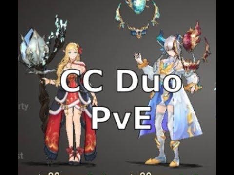 [King's Raid] 1* Pavel/Lorraine PvE Duo (Full Auto)