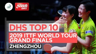 DHS Top 10 Points | 2019 ITTF World Tour Grand Finals