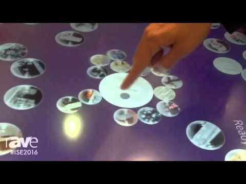 ISE 2016: interactive scape Demonstrates easire Bubbles Application