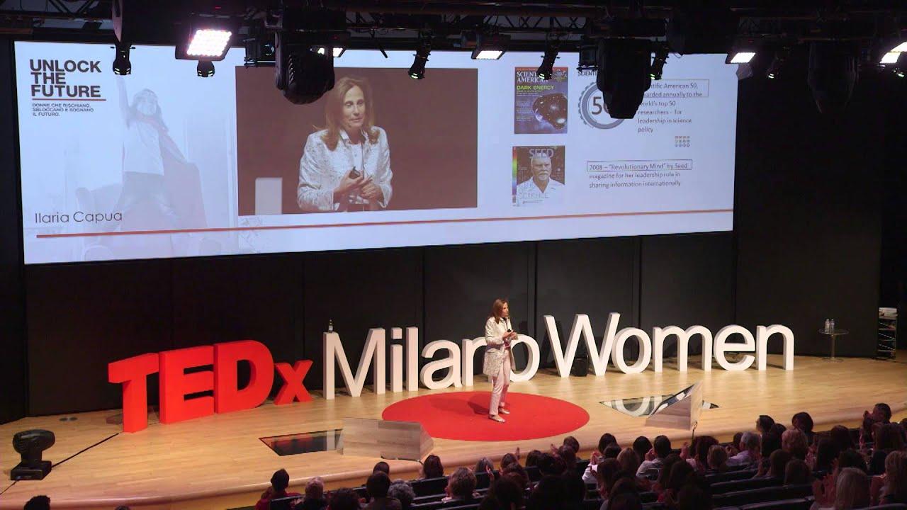 The Combative Researcher | Ilaria Capua | TEDxMilanoWomen ...