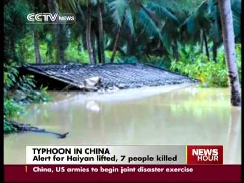 Alert of Haiyan lifted, 7 people killed in China