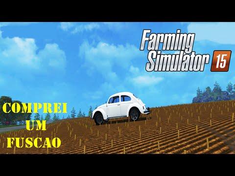 Farming Simulator 15  Comprando o Fuscão Feat Crazy Gamer 1080p