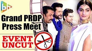 Prem Ratan Dhan Payo | Salman Khan | Sonam Kapoor | GRAND PRESS CONFERENCE  | Event Uncut