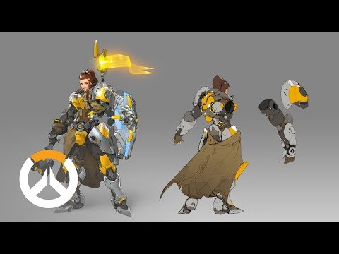 Overwatch: This is how Brigitte was created, the new character in the game