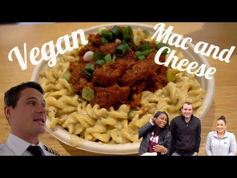 Carnivore Flight Crew Reacts to Vegan Food!