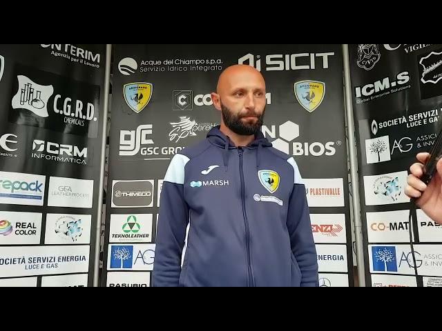 CALCIO - Giuseppe Bianchini commenta il 5-2 dell'Arzignano Valchiampo contro il Montebelluna