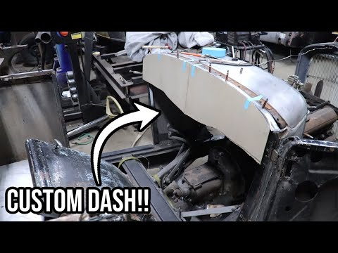 How To Layout A Custom Hot Rod Dash - 1930 Ford Model A Roadster