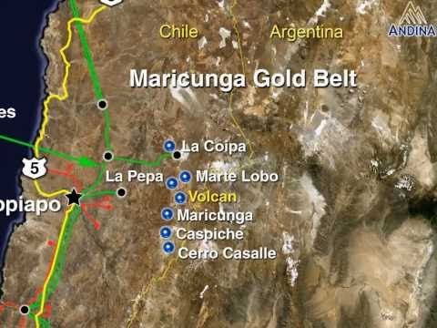 Andina Minerals Inc.'s Volcan Gold Project February 2011 (English Version)