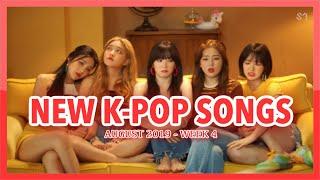 NEW K-POP SONGS | AUGUST 2019 (WEEK 4)
