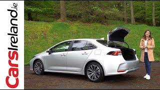 Toyota Corolla Hybrid Saloon (Sedan) Review   CarsIreland.ie