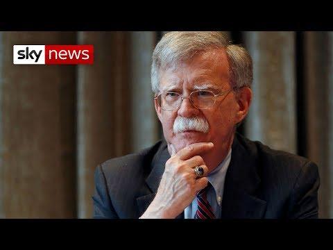 The fall of John Bolton: Trump sacks security adviser