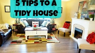 5 Tips for a Tidy Home