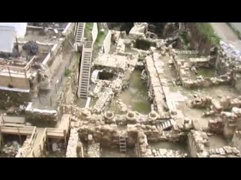 City of David - The Givati Parking Lot dig, an archaeological excavation located in Jerusalem