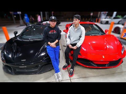 ALEX CHOI PULLED UP ON US! (McLaren 720s vs Ferrari F8 Tributo)