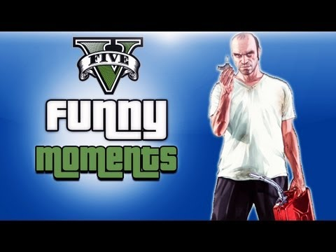 GTA 5 Funny Moments Ep. 7 (Getting Knocked...
