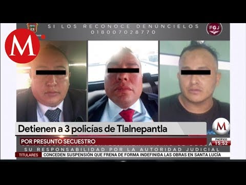 Detienen a tres policías investigados por secuestro from YouTube · Duration:  2 minutes 31 seconds