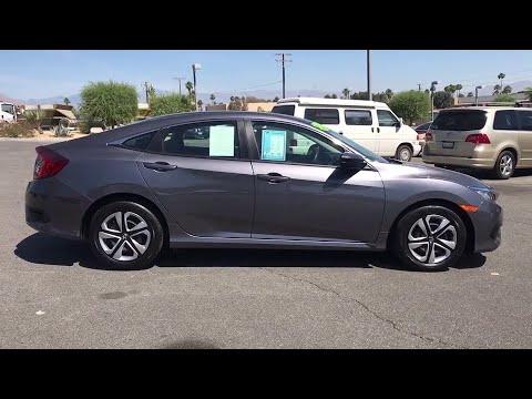 2018 Honda Civic Palm Springs, Palm Desert, Cathedral City, Coachella Valley, Indio, CA 609240