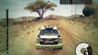 Dirt 3 Kenya  GAMEPLAY Mitsubishi EVO X HD