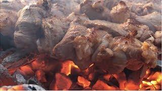 Шашлык из баранины, говядины, свинины, сочный, секретный рецепт маринада от Рината