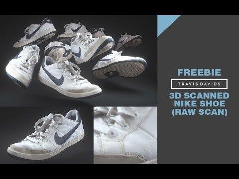 3D Scanned Nike Shoe (RAW SCAN