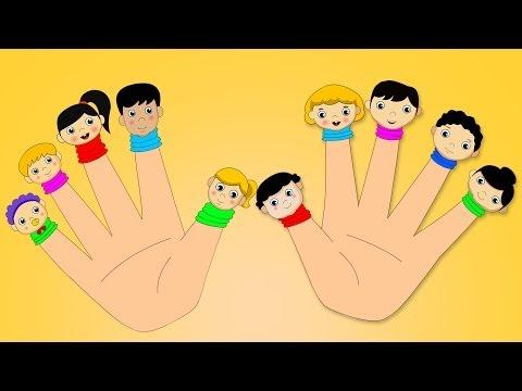 Ten Little Fingers Nursery Rhyme with Lyrics   Kids Songs And Children's Video