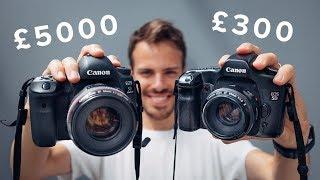 £300 vs £5000 Camera Setup! (Canon 5D Mk I vs Mk IV)