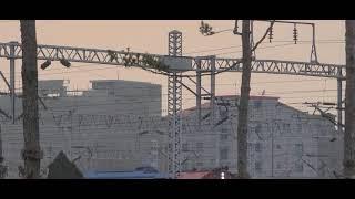 충북선 코레일 시멘트 화물열차 7300호대 7306호차…