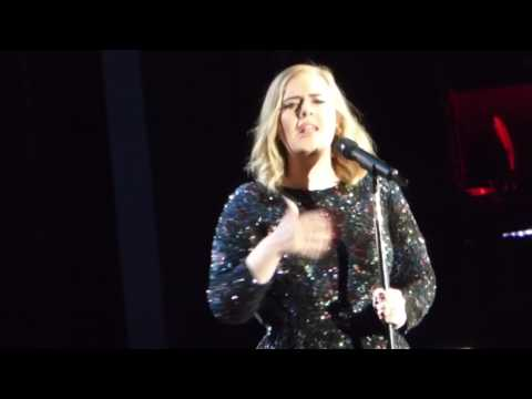 Adele I Miss  You  Live Arena Verona 28 5 2016