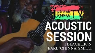 """Earl 'Chinna' Smith and I Black Lion Live INKTV """"Acoustic Session"""" at Inna De Yard"""