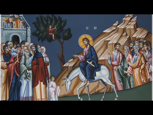 Great Vespers for Palm (Flowery) Sunday -- April 4, 2020 - Online Only