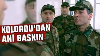 Kolordu'dan Karargah Destek Bölüğüne ANİ BASKIN!