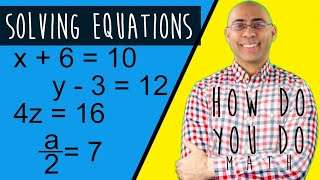 SOLVING EQUATIONS || Start With the Answer Then Do the Opposite