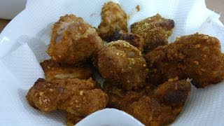 【レビュー】ハウス食品こんがりデリの揚げずにできる!フライドチキンのつくれぽ How to make fried chicken