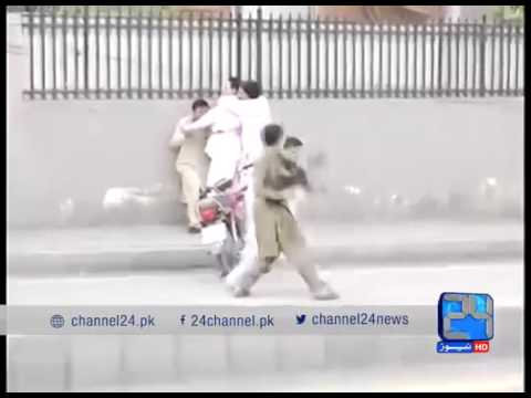 24 Report: Peshawar firing incident: Arms control in KP needs attention