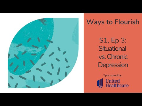 Episode 3 - Situational vs. Chronic Depression