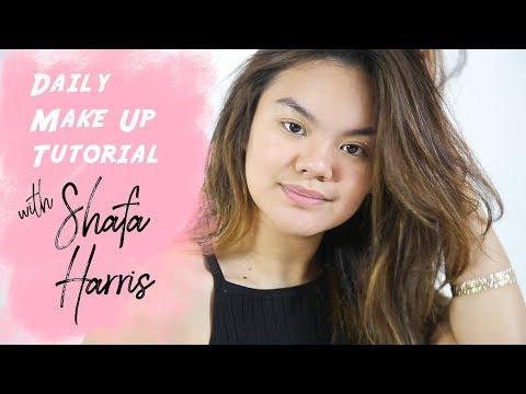 Shafa Harris Makeup Tutorial   Female Daily