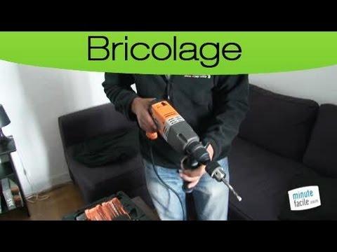 bricolage comment utiliser une perceuse youtube. Black Bedroom Furniture Sets. Home Design Ideas