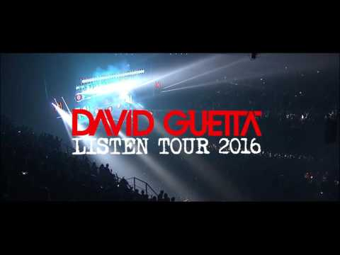 David Guetta Listen Tour France 2016 trailer