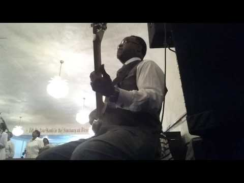JamesOnBassJones Playing Call Him Up Medley