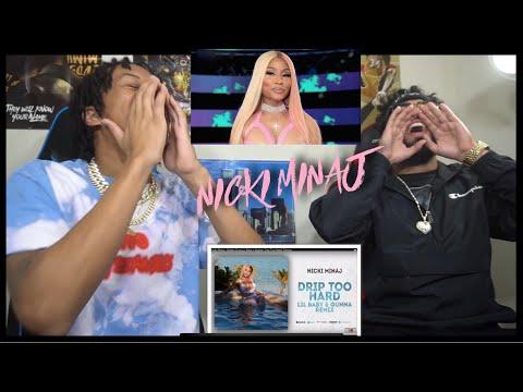 ONIKA GO CRAZY BABY !!Nicki Minaj - Barbie Drip (Lil BabyxGunnaDrip Too Hard  Remix) | FVO REACTION