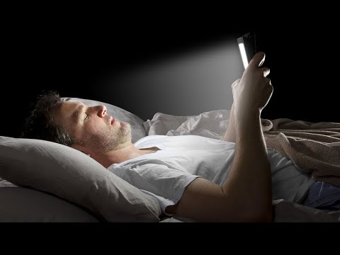 Insomnia: Study shows blue light ruins our sleep; Sleepwalking piano player - Compilation