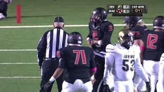 Game of the Week High School Football Irving vs MacArthur 10 27 17