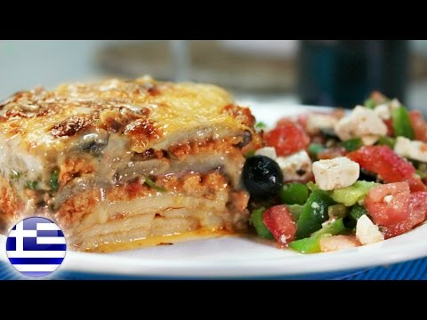 MOST FAMOUS GREEK FOOD | How To Make Moussaka