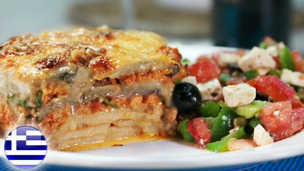 Most Famous Greek Food How To Make Moussaka Youtube